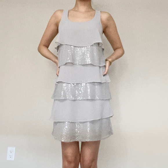 RW & Co Dresses & Skirts - RW & Co • Dress in Silver 👗
